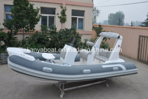 Liya 5.2m Inflatable Semi Rigid Boat Chinese Boat Manufacturers pictures & photos