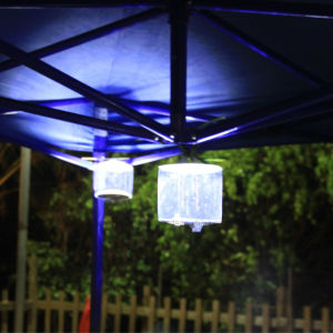 Inflatable Lantern Light Solar Power Outdoor Camping Garden Festival Tent Light pictures & photos