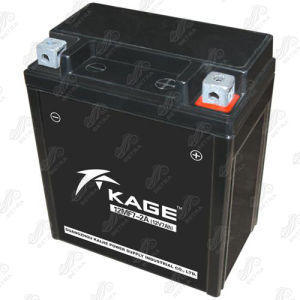 Motorcycle Battery (12MF7-2A) 12V-7Ah