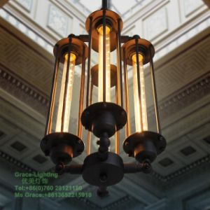 Creative Test Tube Pendant Lamp with Bulbs (GD-0212-4) pictures & photos