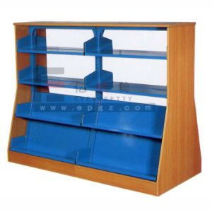 Cheap Metal Library Bookshelf-School Library Furniture pictures & photos