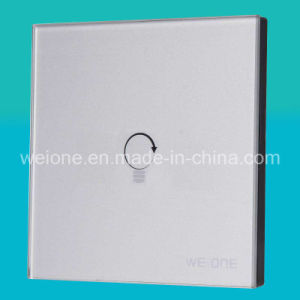 OEM/ODM RF Radio Frequency Silver Tempered Glass 1 CH Remote Control Switch (L11901-NDS)