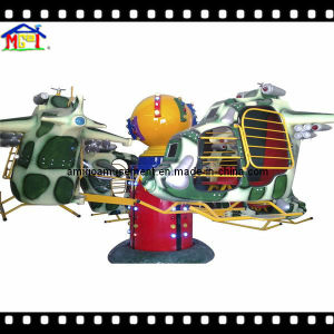 2018 Kids Helicopter Amusement Park Ride Indoor Playground Equipment pictures & photos