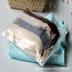 Clothes PE Zipper Bag pictures & photos