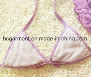 Girl′s Lace Bikini, , Lace Lovely Swimming Suit for Kids pictures & photos
