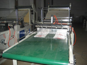 Four-Line Plastic Bag Making Machine with Auto Belt Conveyor pictures & photos