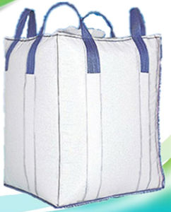 Tubular Cross Corner PP Big Bag with Filler Cover pictures & photos