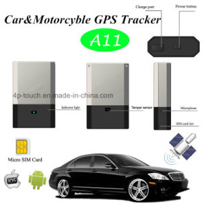 Car Motorcycle GPS Tracker for Vehicle Positioning (A11) pictures & photos