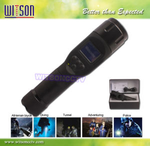 Waterproof Flashlight DVR Camera, HD Resolution Camera (W3-FD3009) pictures & photos