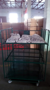 Strong, Tubular Logistic Shelf/Table Trolley Cart with 4 Swivel Caster pictures & photos