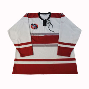 Health Fabric 260gms Ice Hockey Jersey for Hockey Clubs pictures & photos