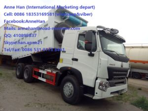 HOWO A7 Dump Truck Luxury Cabin for Construction / Mine Working pictures & photos