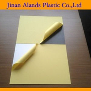 0.5mm Rigid Self Adhesive PVC Sheet for Photo Album pictures & photos