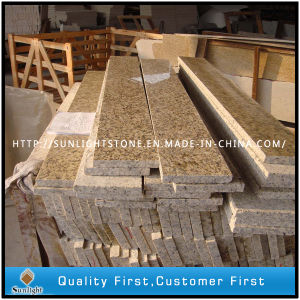 Polished Tiger Skin Yellow Granite Steps Stairs for Outdoor Garden pictures & photos
