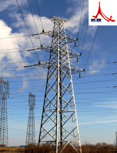 110 Kv Linear Angle Steel Power Transmission Tower pictures & photos