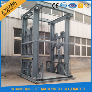 Guide Rail Lift/ Hydraulic Freight Elevator pictures & photos
