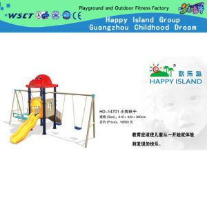 New Design Children Swing Set with Playground on Promotion (HD-10701) pictures & photos