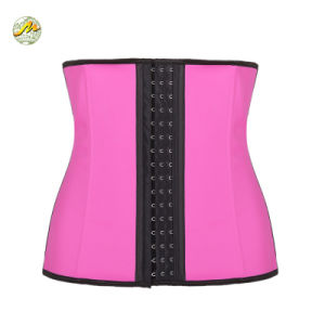 Stretch Strap & Sexy Shaper Latex Waist Corset for Fat
