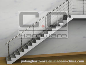 Stainless Steeel Staircase Railing System pictures & photos