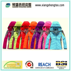 100% Nylon Taslon Teflon Waterproof Nylon Fabric for Outdoor Sportswear Down Proof pictures & photos