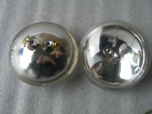 High Center Beam Intensity Aircraft Landing Sealed Beam Bulb pictures & photos