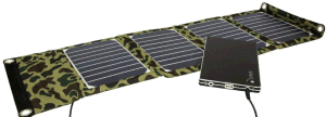 Factory Original Solar Mobile Phone Power Bank Charger 20W 5V 2000mA 18V 1100mA pictures & photos