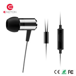 2017 Innovative Earbuds Metal Wired Earphone with Stereo Sounds pictures & photos