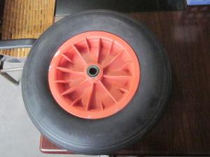 Good Quality Durable Wheelbarrow Parts PU Form Wheel (4.00-8) pictures & photos