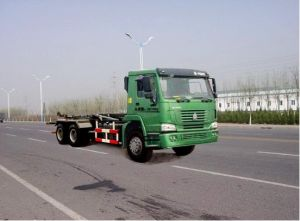 Carriage Detachable Type Compression Garbage Truck