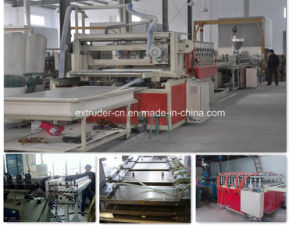 PVC WPC Foamed Board Extrusion Line (1220mm width) pictures & photos
