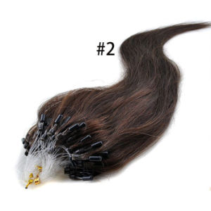 Unprocessed Human Virgin Micro Ring Hair Nano Ring Hair Extensions pictures & photos