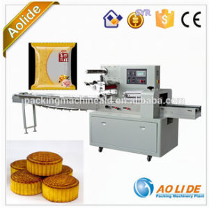 Automatic Mooncake Horizontal Food Nitrogen Packing Machine Manufacturer pictures & photos