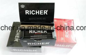 Custom Hot Sales Cigarette Smoking Hemp Rolling Paper (1 1/4 size) King Slim pictures & photos