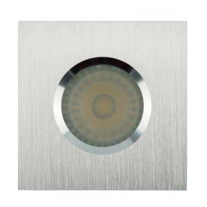 Lathe Aluminum GU10 MR16 Square Fixed Recessed LED Bathroom Downlight (LT2901) pictures & photos