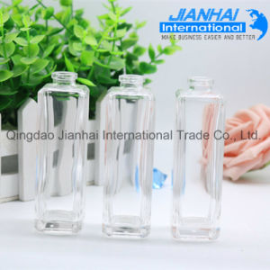 High Quality Clear Glass Bottle for Nail Polish pictures & photos