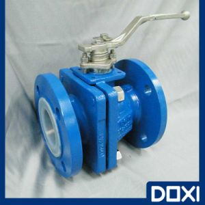 Wcb Doxi OEM PFA PTFE Ball Valve pictures & photos
