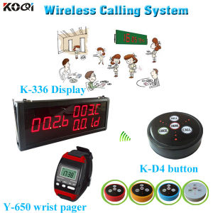 2015 Newest Receiver K-336+Y-650+D4 Number Calling System pictures & photos
