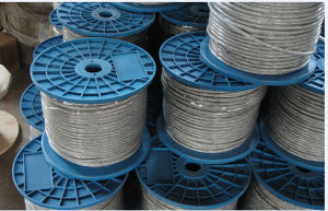 Galvanized and Ungalvanized Steel Wire Rope 6X7+FC Used in Ropeway pictures & photos