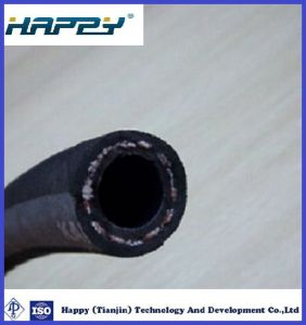 3/4 Inches Single Fiber Braid Rubber Covered Hydraulic Hose pictures & photos