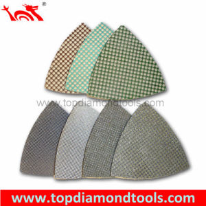 Triangle Corner Diamond Polishing Pads for Concrete pictures & photos