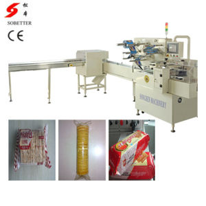Single Row Biscuit on Edge Packing Machine pictures & photos