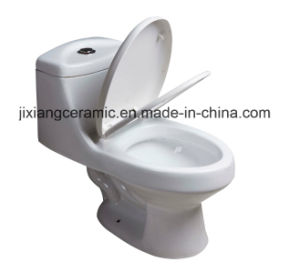 Ceramic Sanitary Ware One-Piece Toilet 300mm Siphonic pictures & photos