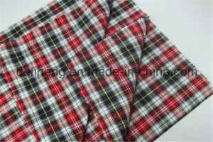 100% Cotton Yarn Dyed Checks Fabric for Shirts