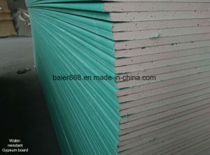 Waterproof Gypsum Board /Moisture Proof Gypsum Board/1200*2400/1220*2440*7/8/9/12mm pictures & photos