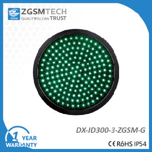 Dia. 300mm Green Round Traffic Signal Light