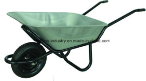 Heavy-Duty Metal Tray Wheel Barrow Wb4518 for Construction&Farm pictures & photos