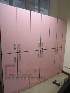 Solid Phenolic Compact Laminate Gym Locker pictures & photos