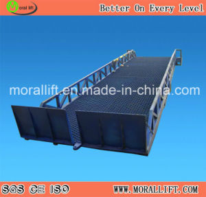 CE Approved Hydraulic Forklift Dock Leveler (YDCQ) pictures & photos