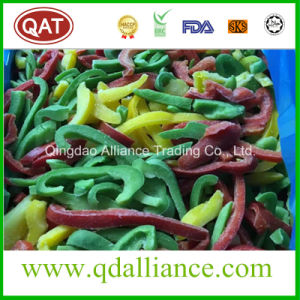 IQF Frozen Sliced Red Yellow Green Pepper pictures & photos