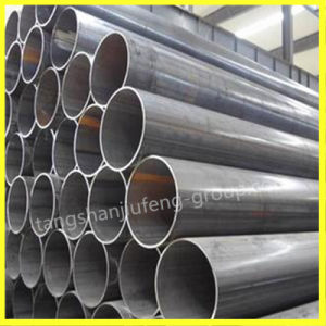 ASTM A53 ERW Welded Black Carbon Steel Pipe for Water pictures & photos